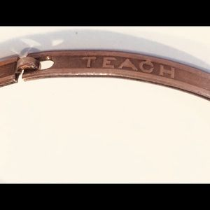 "Vintage Bracelet ""Teach Me To Feel Another's Woe"""